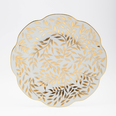 Nymphea Olivier Gold Dinner plate