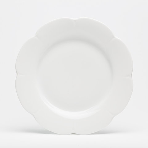 Nymphea White Dinner plate