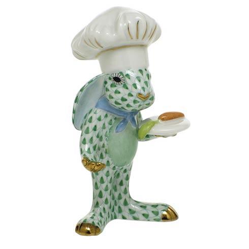 Bunnies Chef Bunny-Green