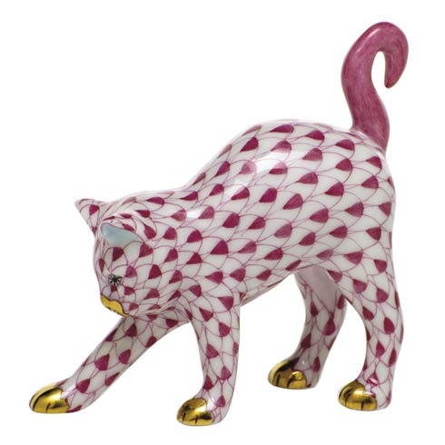 Cats Arched Cat-Raspberry