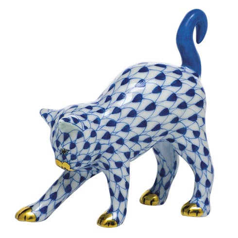 Cats Arched Cat-Sapphire