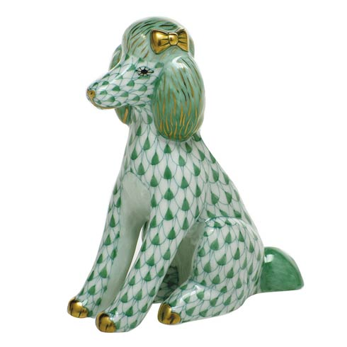 Dogs Poodle-Green