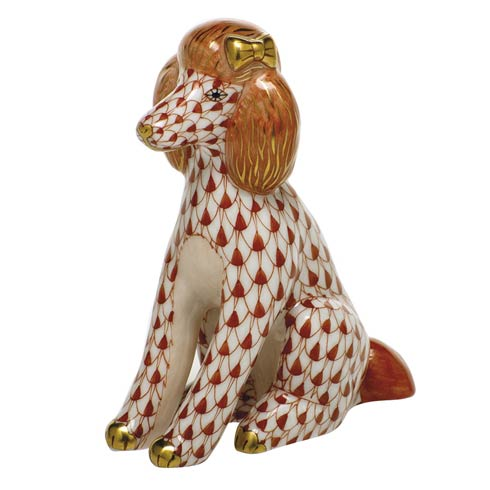 Dogs Poodle-Rust