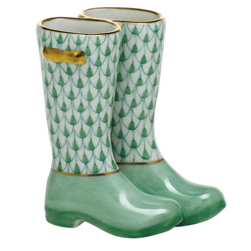 Miscellaneous Pair of Rain Boots-Green
