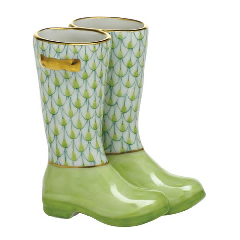 Miscellaneous Pair of Rain Boots-Key Lime