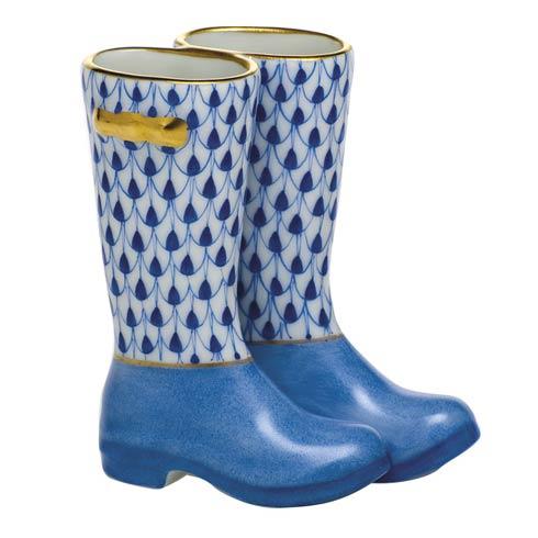 Miscellaneous Pair of Rain Boots-Sapphire