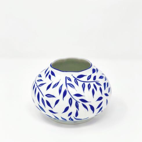 Nymphea Olivier blue Vase round - small