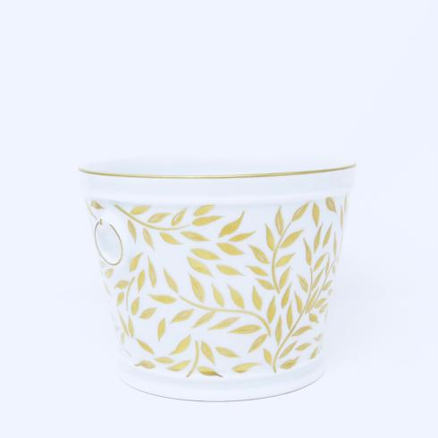 Nymphea Olivier Gold Cachepot - small