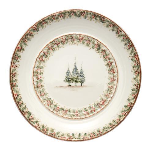 Natale Large Round Platter Signed