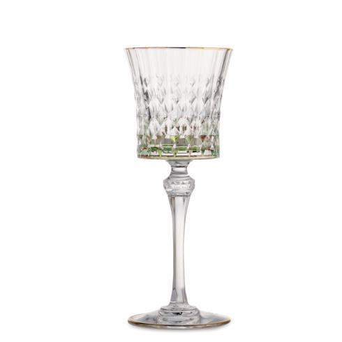 Serena Green Wine Glass