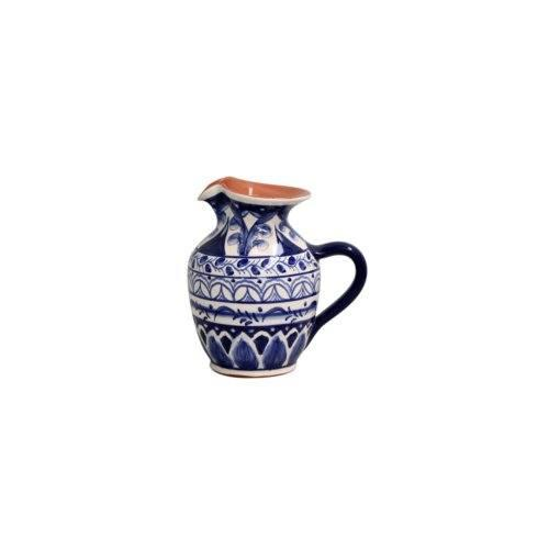 Alentejo Terracota Indigo Small Pitcher