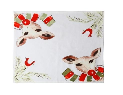 Deer Friends Napkin, Set/4
