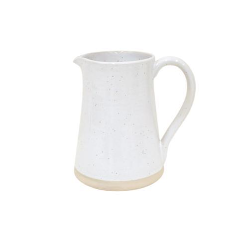 Fattoria White Medium Pitcher