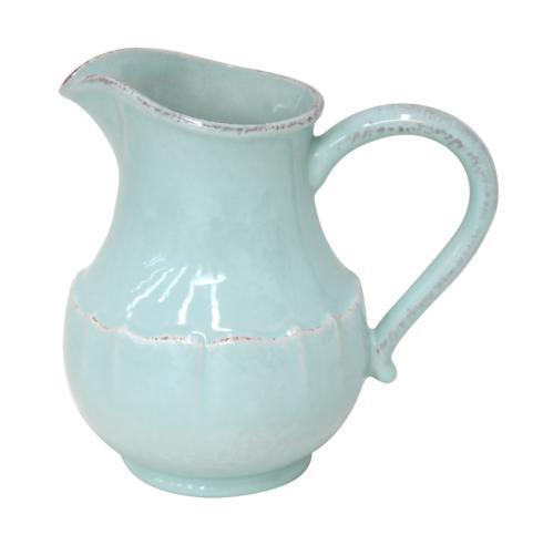 Impressions Robin's Egg Blue Pitcher