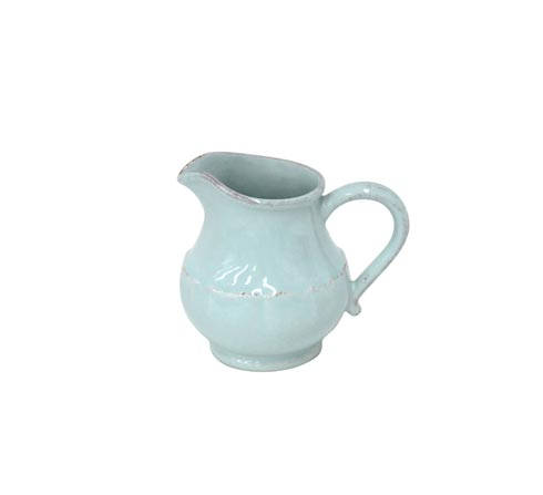 Impressions Robin's Egg Blue Small Pitcher
