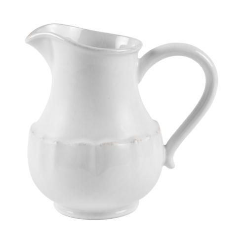 Impressions White Pitcher