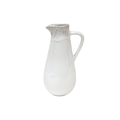 Taormina White Pitcher