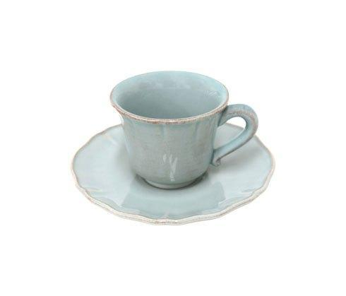 Alentejo Turquoise Coffee Cup & Saucer