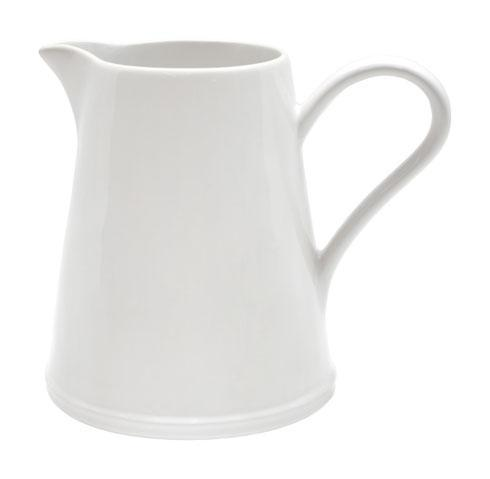 Astoria White Pitcher