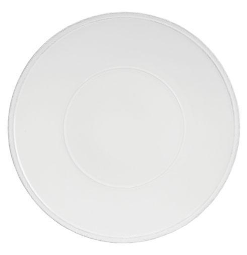 Friso White Charger Plate