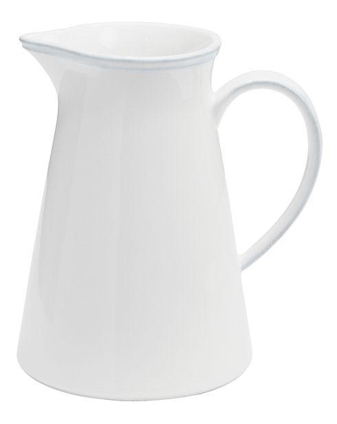 Friso White Pitcher