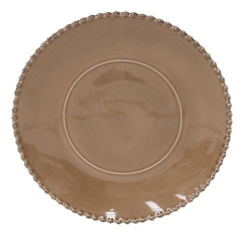 Pearl Cocoa Charger Plate