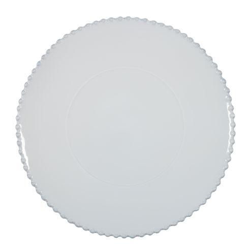 Pearl White Charger Plate