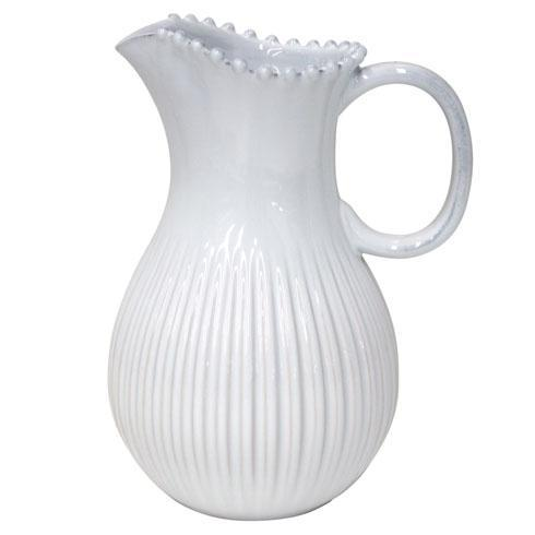 Pearl White Pitcher