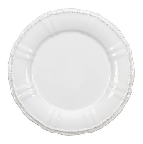 Village White Charger Plate