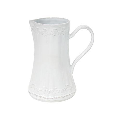 Village White Pitcher