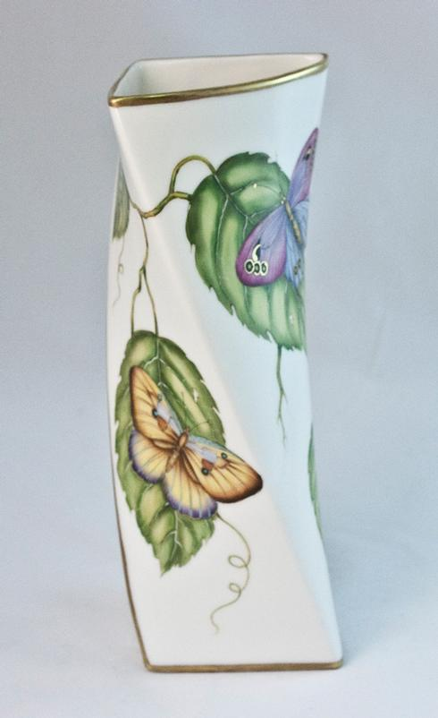 Giftware Butterfly Triangular Vase
