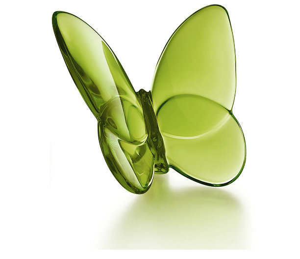 Baccarat Lucky Butterfly-Green