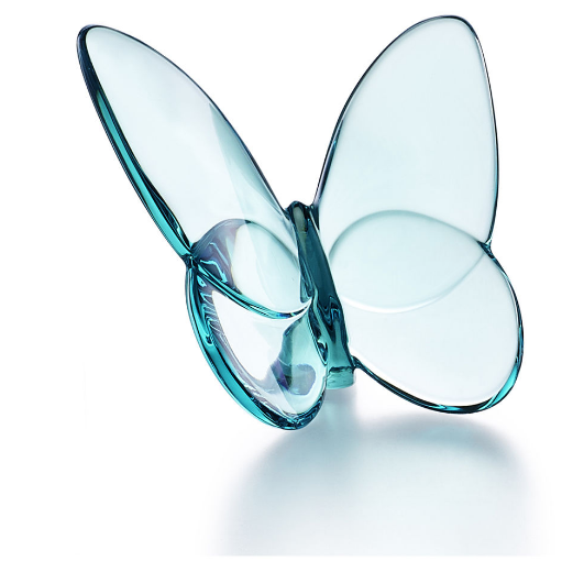 Baccarat Lucky Butterfly-Turquoise