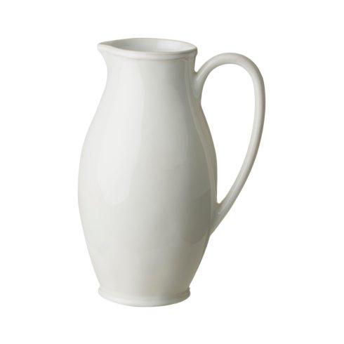 Fontana White Pitcher