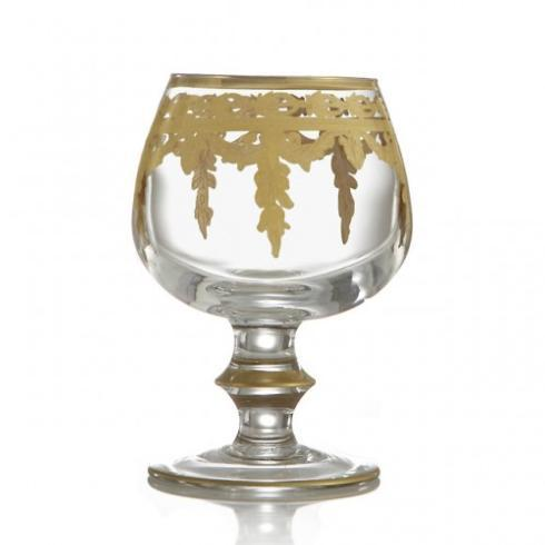Vetro Gold Brandy Glass