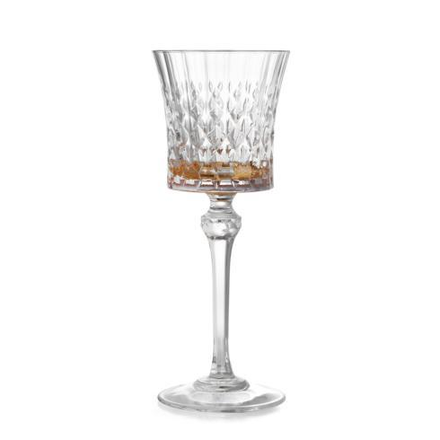 Serena Amber Wine Glass