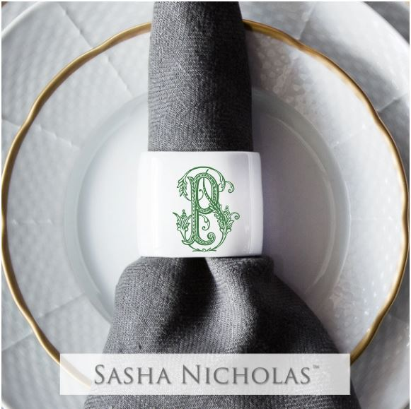 Quick Ship Oval Napkin Ring