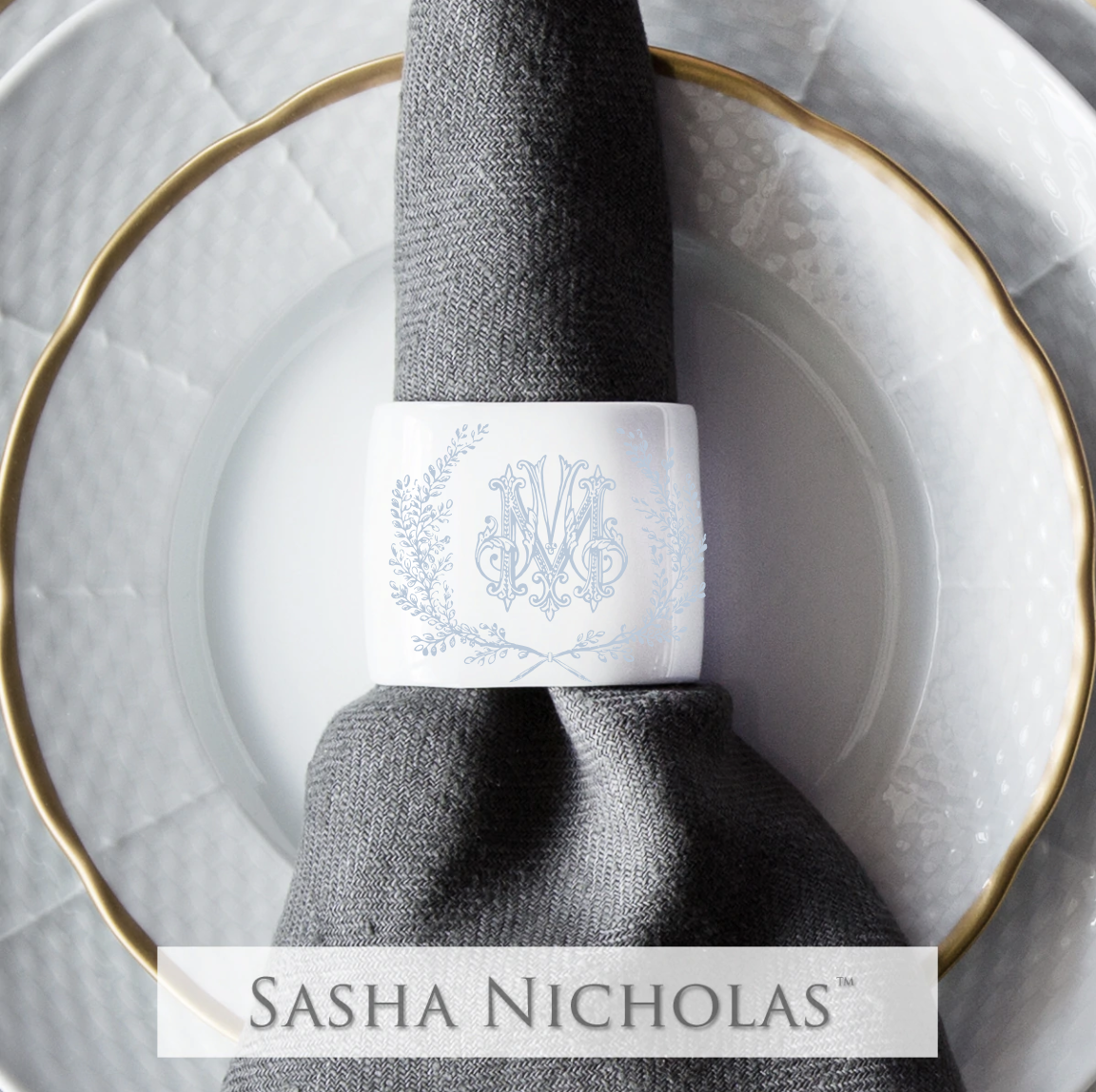 Coyne-Mellow Oval Napkin Ring