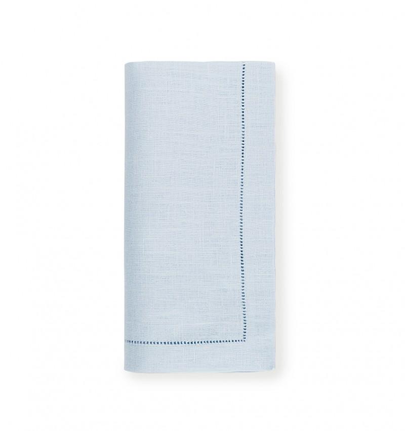 Coyne-Mellow Sferra Festival Linen Napkin Set of 4 | Sky