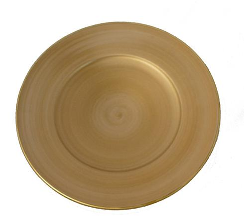 George-Fraley Anna Weatherley Brushed Gold Charger