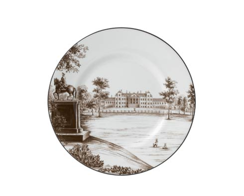 """Parkland Accent Plate 9"""" Stowe House"""