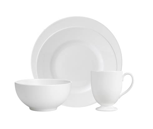 Wedgwood White 4 - Piece Place Setting