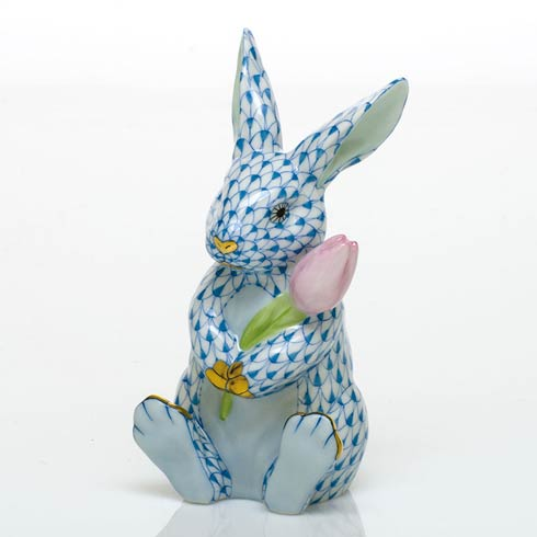 George-Fraley Blossom Bunny - Blue