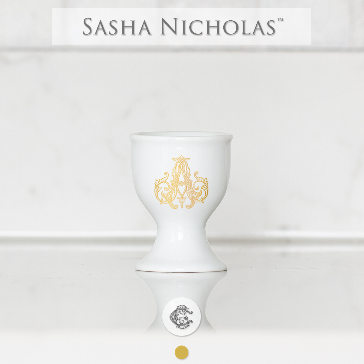 Sasha Nicholas Egg Cup - Limited Edition