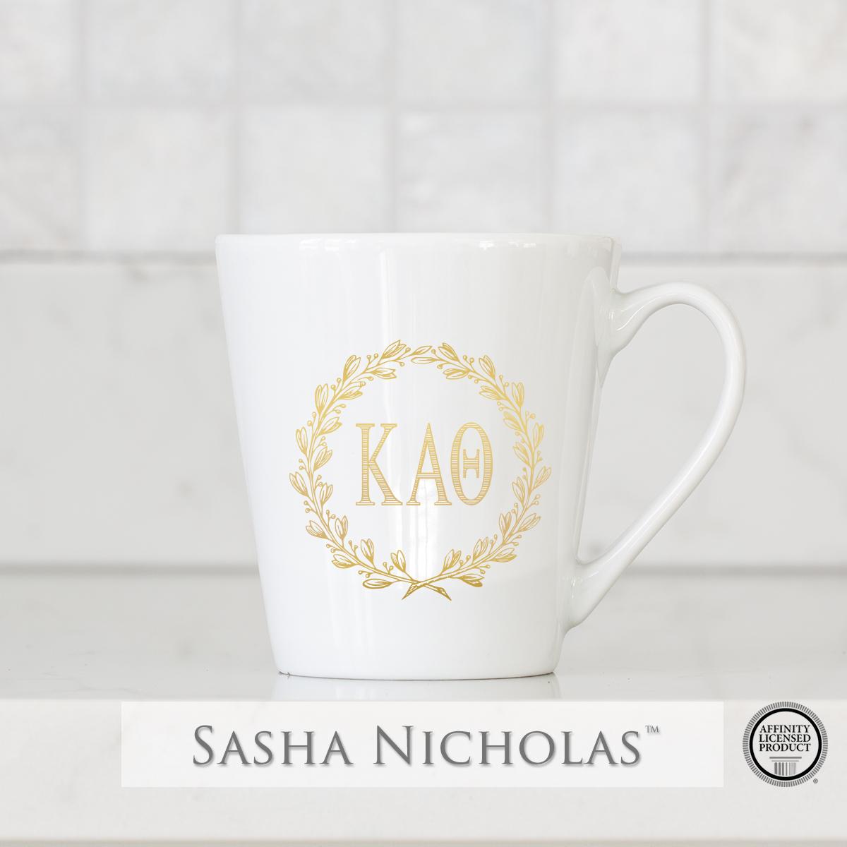 Kappa Alpha Theta - Tapered Mug