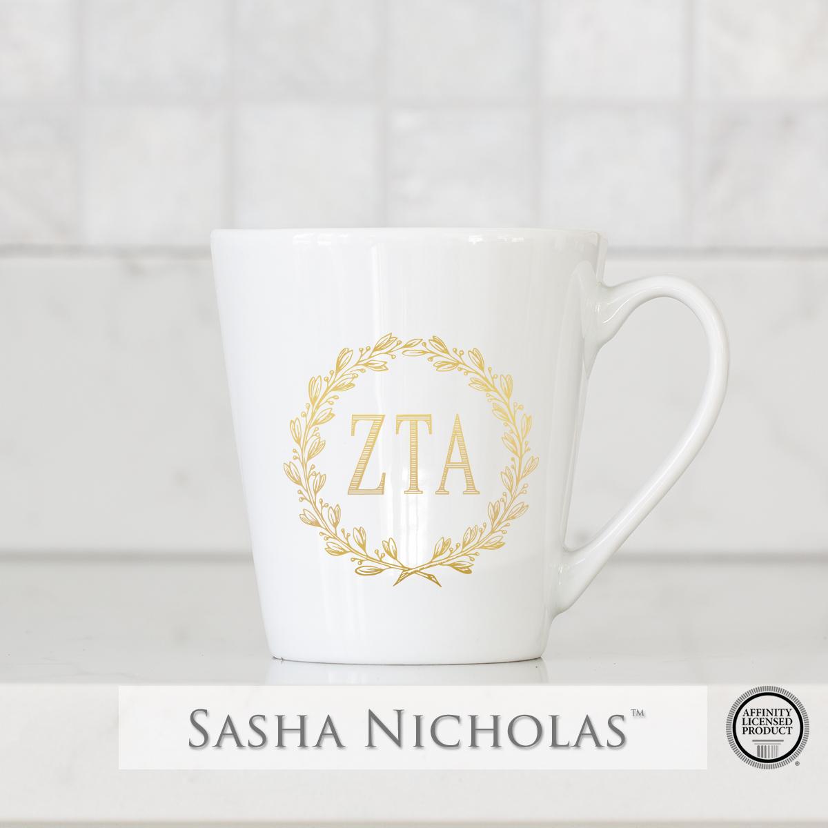 Zeta Tau Alpha - Tapered Mug