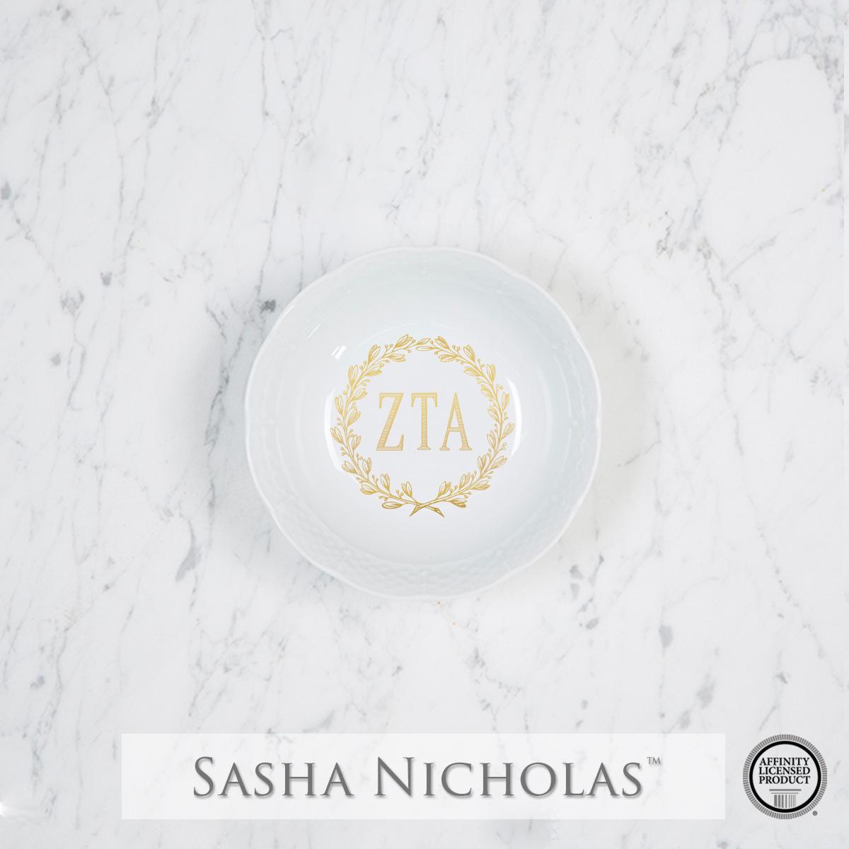 Zeta Tau Alpha - Petite Bowl