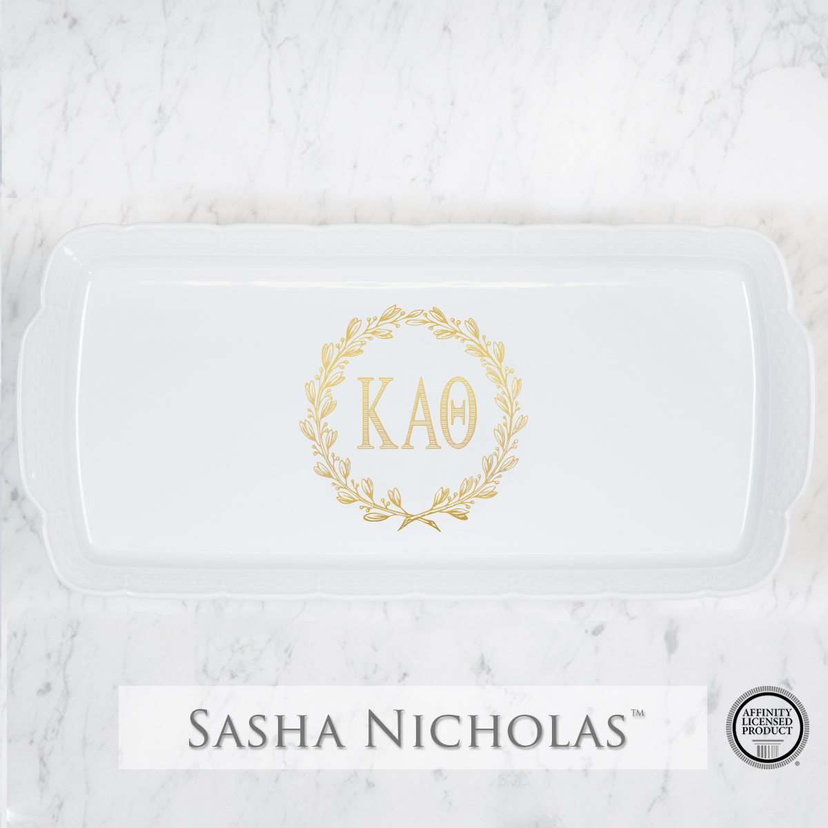 Kappa Alpha Theta - Platter