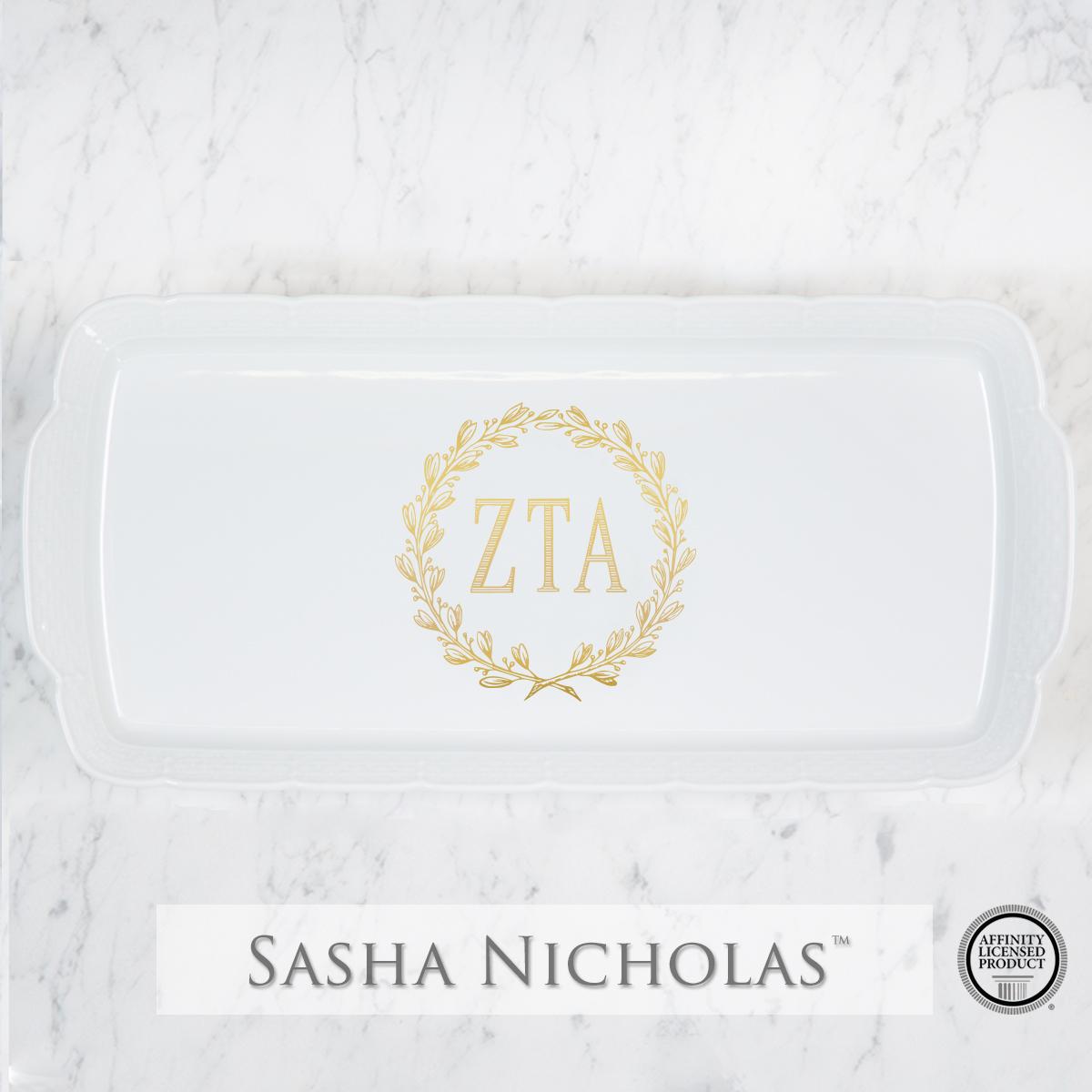 Zeta Tau Alpha - Platter