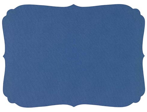 Curly Periwinkle Mat - Pack of 6
